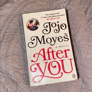 After You. Jojo Moyes (sequel to me before you)